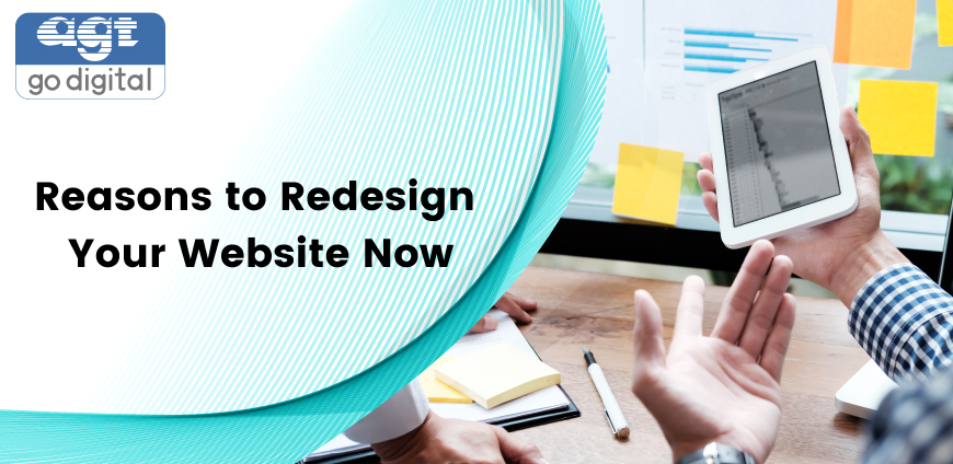 Reasons to Redesign Your Website Now